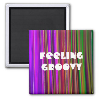 STRIPES - FEELING GROOVY Bullet Hole - Magnet