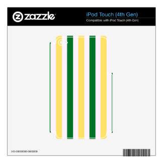 Stripes Fun Decal For iPod Touch 4G