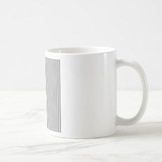 Stripes - Gray and Light Gray Coffee Mug