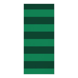 Stripes - Green and Dark Green Custom Announcements