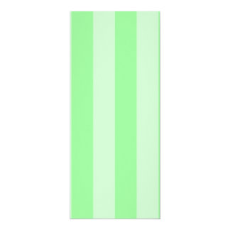 Stripes - Green and Light Green Personalized Invitations