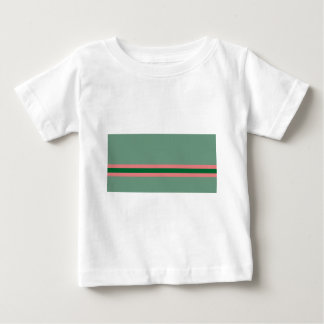 Stripes Green with Pink Baby T-Shirt