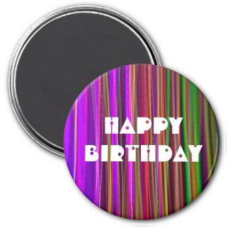 STRIPES - HAPPY BIRTHDAY Bullet Hole - Magnet