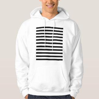 Stripes Hooded Sweatshirt