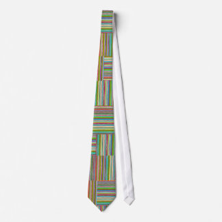 Stripes Horizontal and Vertical Neck Tie