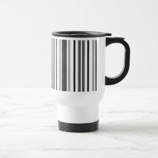 Stripes in Gray Mug