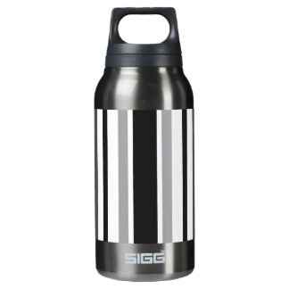 Stripes in Gray Thermos Bottle