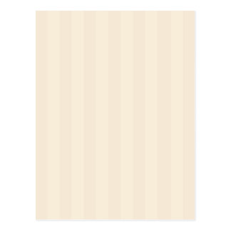 Stripes in Pastel Tan and Beige Postcard