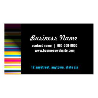 Stripes in Spotlight Business Card