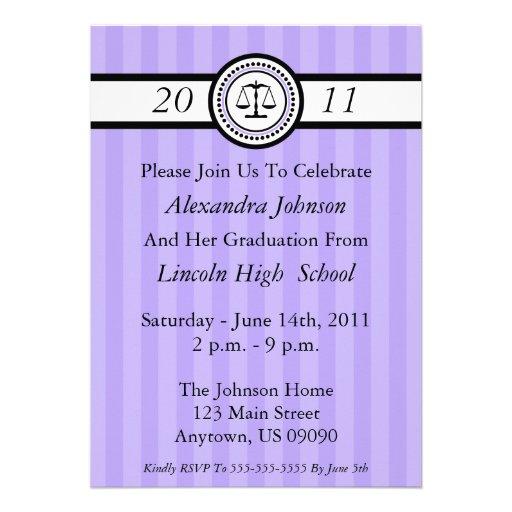 Law School Graduation Invitations was very inspiring ideas you may choose for invitation ideas