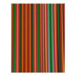 Stripes Letterhead Design