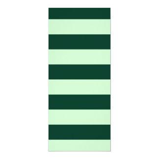 Stripes - Light Green and Dark Green Announcement