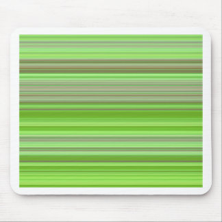 Stripes lightgreen no. 2 created by Tutti Mouse Pad
