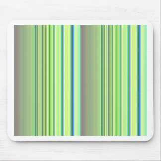 Stripes lightgreen no. 3 created by Tutti Mouse Pad