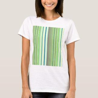 Stripes lightgreen no. 3 created by Tutti T-Shirt