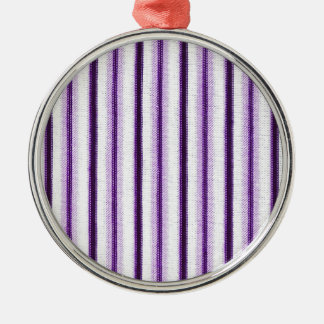 Stripes Line Art Fashion Passion, Green, Pink, Sty Metal Ornament