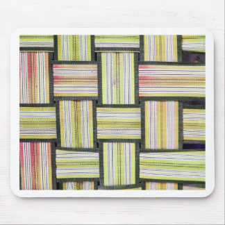 Stripes Line Art Fashion Passion, Green, Pink, Sty Mouse Pad
