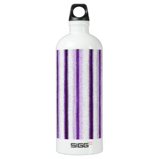 Stripes Line Art Fashion Passion, Green, Pink, Sty Water Bottle