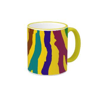Stripes Ringer Coffee Mug
