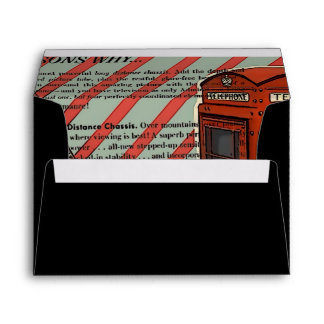 stripes musical guitar london telephone booth envelopes