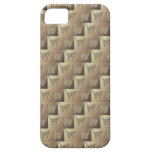 Stripes n ZigZags Tan iPhone 5 Cases
