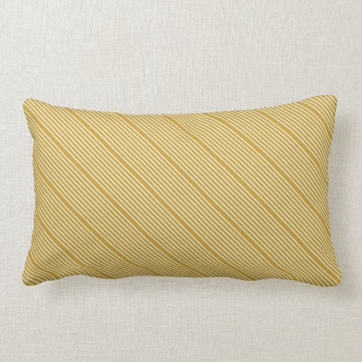 Pale Yellow Decorative Pillows : Stripes natural colors yellow ochre pale green throw pillow Zazzle