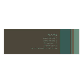 Stripes No. 0016 Business Card Templates