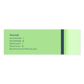 Stripes No. 0037 Business Card Templates