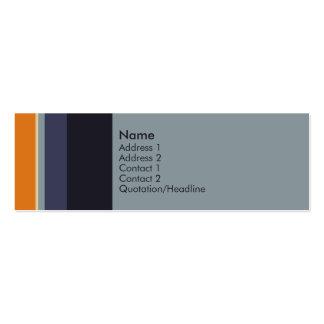 Stripes No. 0038 Business Card
