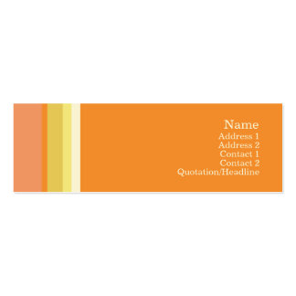 Stripes No. 0142 Business Card Template