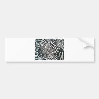Stripes of a Family Bumper Sticker