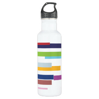 Stripes of Color Liberty Water Bottle