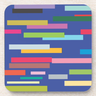 Stripes of Color Set of 6 Coasters