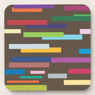 Stripes of Colour Set of 6 Coasters
