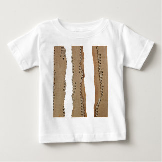 Stripes of corrugated cardboard baby T-Shirt