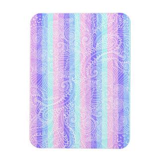 Stripes of pastel harmony magnet