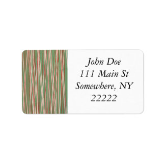 Stripes of Straw Label
