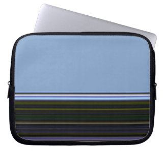 Stripes on Blue iPad Sleeve