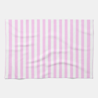 Stripes (Parallel Lines) - Pink White Kitchen Towels