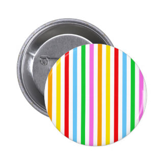 Stripes Parallel Lines - Red Blue Green Pink Buttons