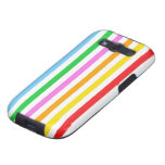 Stripes (Parallel Lines) - Red Blue Green Pink Samsung Galaxy SIII Cases