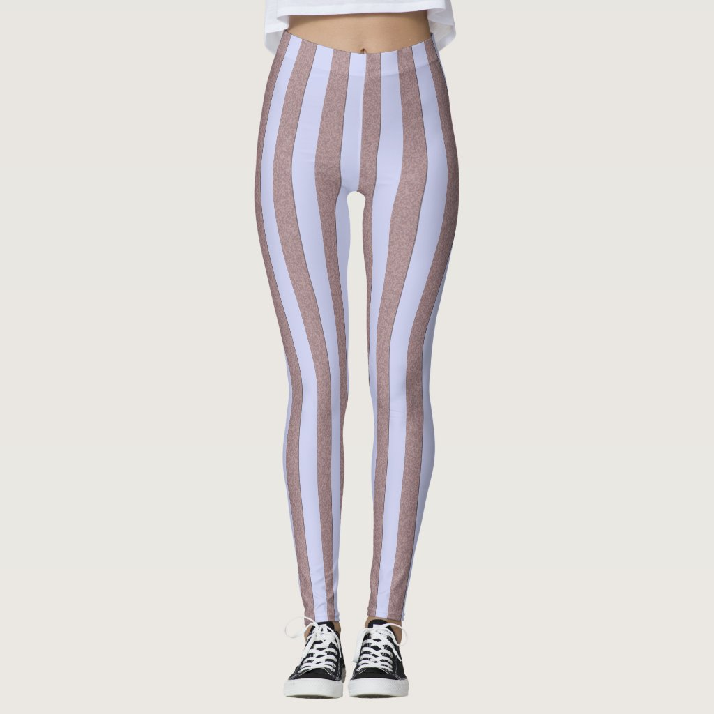 Stripes Pastel Blue Vertical on any Color