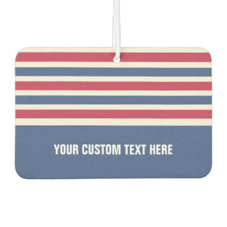 Stripes Pattern custom car air freshner Air Freshener