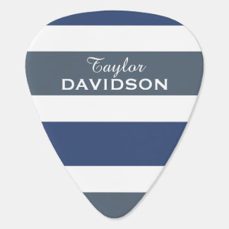 Stripes Pattern custom guitar pick