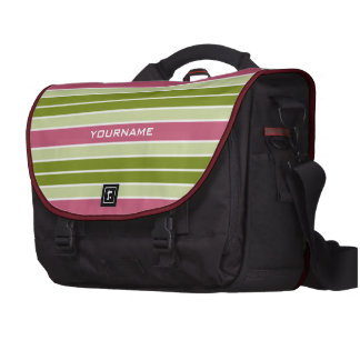 Stripes Pattern custom laptop bag