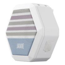 Stripes Pattern custom monogram speaker
