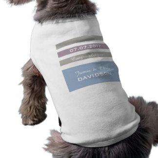 Stripes Pattern custom pet clothing