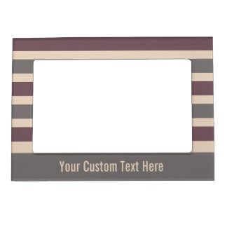 Stripes Pattern custom picture frame
