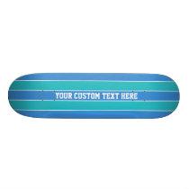 Stripes Pattern custom skateboards