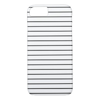Stripes Pattern Minimal Black and White iPhone 8/7 Case